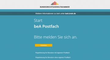 Jetzt anmelden zum beA-Webinar: Das beA fehlerfrei und effektiv nutzen
