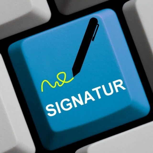 Signaturen beim Einsatz des beA – das sollten Sie wissen