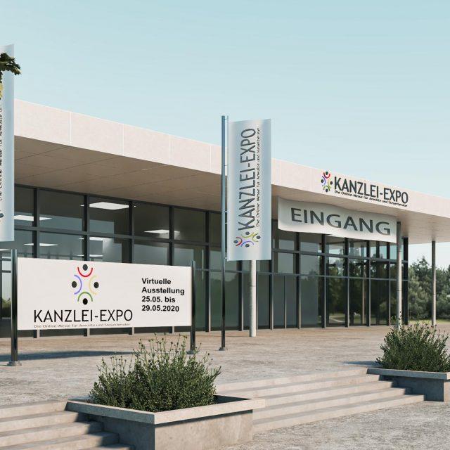 Die neue Kanzlei-Expo startet am 25. Mai 2020<br>Die erste virtuelle Verkaufsmesse für Kanzleien kommt
