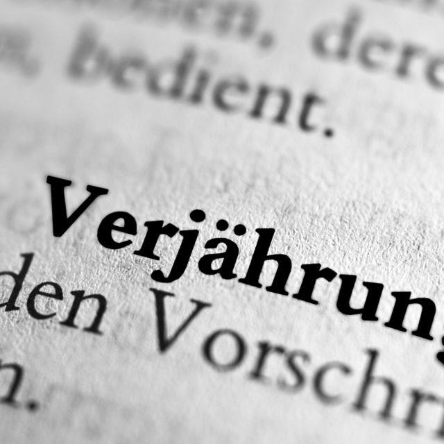 """Stundungsvereinbarung, """"pactum de non petendo"""" oder Verjährungsverzicht – Wo liegen die Unterschiede?"""